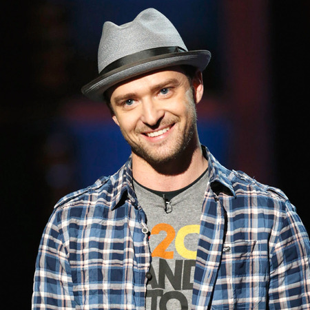 Justin Timberlake at Stand Up To Cancer benefit, LA