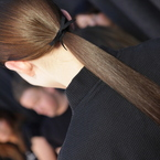 HAIR HOW-TO: Erdem's chic Bow Tail
