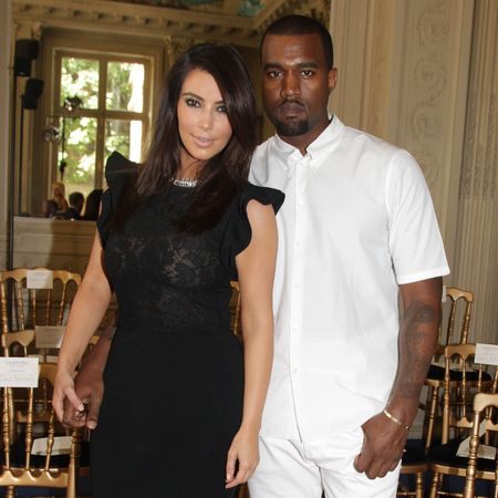 Kim Kardashain and Kanye West