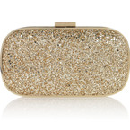 BAG LOVE: Anya Hindmarch glitter box clutch