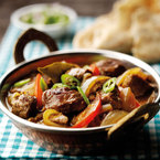 Warm up with this delicious lamb curry