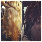 Crimping rules at Cape Town Fashion Week with ghd