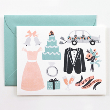 Rifle paper co wedding card
