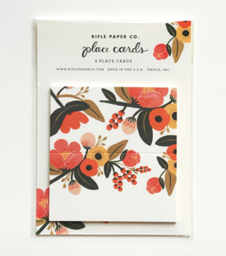 Rifle Paper Co place cards
