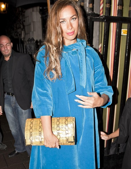 Leona Lewis in blue