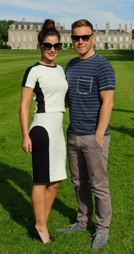 Cheryl and Gary at Boughton House