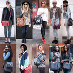 100 women, 100 handbags: The ultimate street style