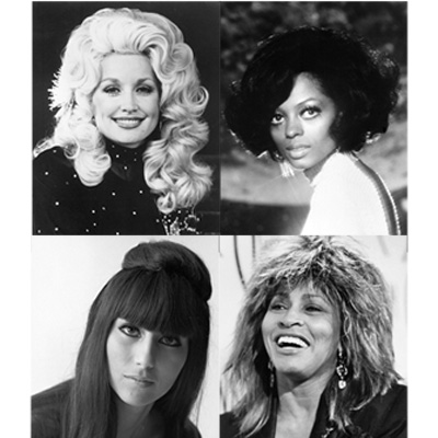 Rock star hairstyles from the 1960s and 1970s - Beauty & Hair News