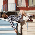Agyness Deyn collaborating with Dr Martens