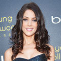 Ashley Greene goes for classic tailoring in Donna Karan