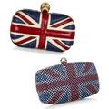 BAG BATTLE: Alexander McQueen Britannia Skull clutch vs Debenhams Union Jack clutch