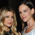 HAIR ENVY: Fergie and Hilary Swank show off frizz-free tresses