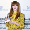 Karen Gillan bags Scottish Fashion Icon Award in shocking Twenty8Twelve prints