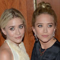 Mary-Kate and Ashley Olsen show-off their style in contrasting monochrome outfits