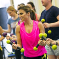 We love: Body sculpting Zumba Toning classes