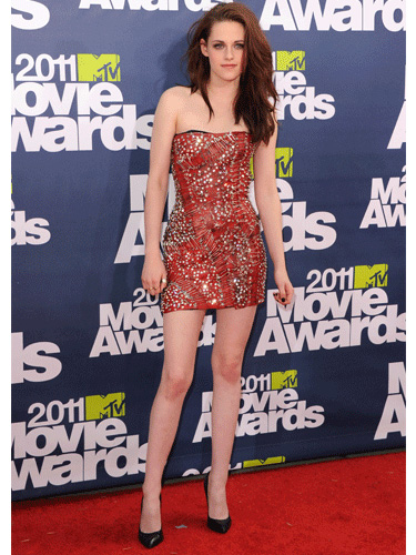 Kristen Stewart at MTV Movie Awards 2011