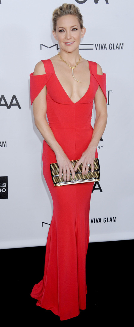 Kate Hudson Prabal Gurung at 3rd amfAR Inspiration Gala Oct 2012
