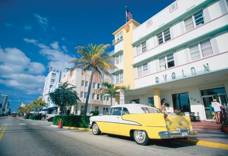 American road trip Miami