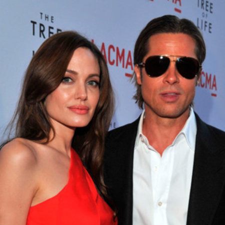 Highest paid celebrity couples Brad PItt and Angelina Jolie