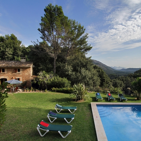 C'an Picassa farmhouse, Son March valley, Mallorca