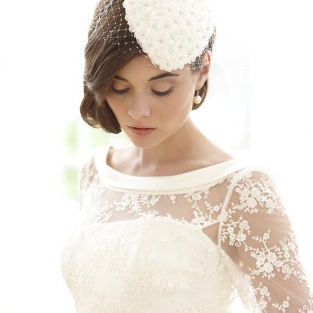 Sassi holford lace wedding dress
