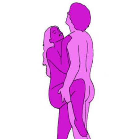 The erotic tower sex position