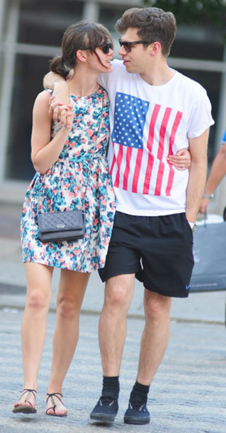 Keira Knightly and James Righton celebrity spot - vintage style - celebrity couples - celebrity fashion - feature - shopping bag - handbag.com