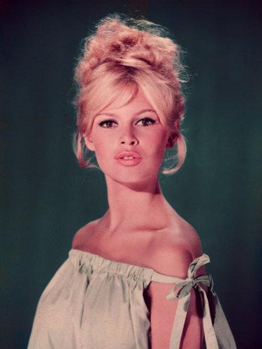 Brigitte Bardot's beehive hairstyle