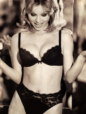 Eva Herzigova for Wonderbra