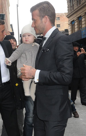 STYLE STALKER: Happy birthday Harper Beckham you stylish little cutie!