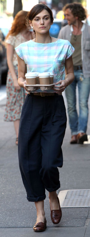 Keira Knightley's off duty style