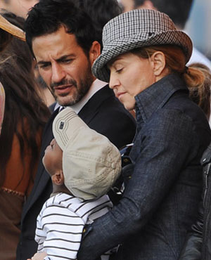 Marc Jacobs to wed this weekend?