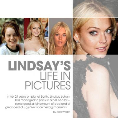 Lindsay Lohan - a life in pictures