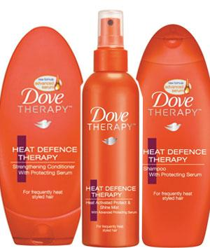 Defend your hair from the heat