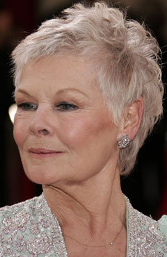 Judi Dench at the Oscars 2006