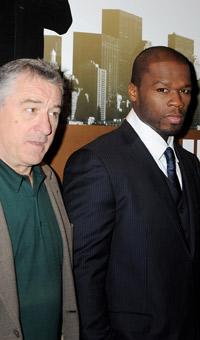 50 Cent praises Robert De Niro