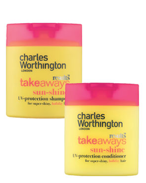 Charles Worthington Takeaways Sunshine Shampoo and Conditioner