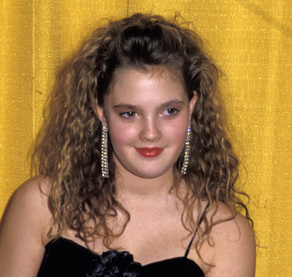 Changing look - Drew Barrymore, 1985 - Changing look - Drew ...