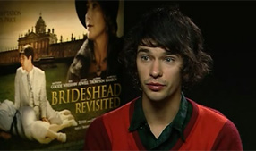 Watch our exclusive Ben Whishaw video interview
