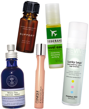 Top 10 in-flight beauty must-haves