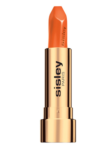 Sisley orange lipstick