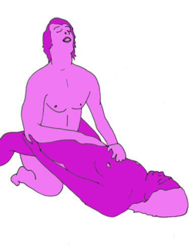 The open yoni sex position