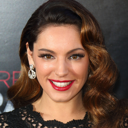 Kelly Brook at Crazy Horse cast promo