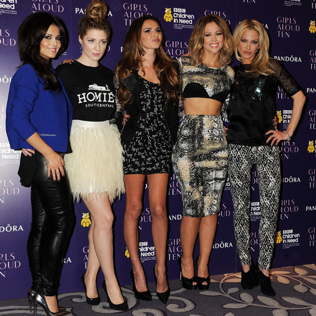 Girls Aloud TEN press conference