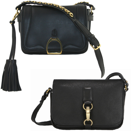 Bag Battle: Ralph Lauren Collection F12 Crossbody with Chain & Tassel, Radley Laura Bailey Arundel