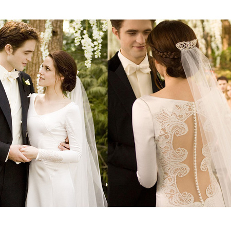 Bella's wedding dress in <em>Twilight</em>