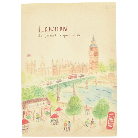 Papercahse London travel journal