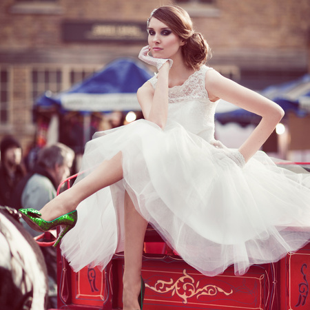 The £350 wedding dress