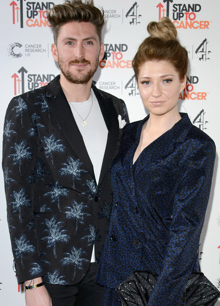 Nicola Roberts and Henry Holland at Stand Up To Cancer fundraiser