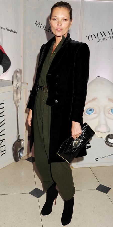 Kate Moss at Tim Walker: Story Teller Private View Supported by Mulberry